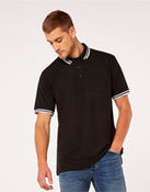 Men's Tipped Piqué Polo