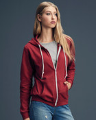 Anvil Ladies Full Zip Hooded Sweat