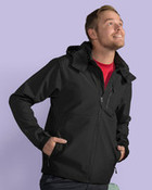 SG Mens Hooded Contrast Softshell