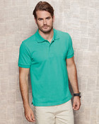 Stars Henry Mens Polo Shirt
