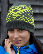 Result Winter Nordic Knitted Hat