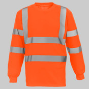 Hi-vis long sleeve t-shirt (HVJ420)