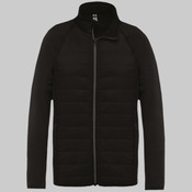 Dual-fabric sports jacket