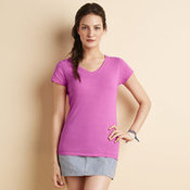 Softstyle® women's v-neck t-shirt