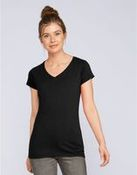 Ladies' Soft Style V-Neck T-Shirt