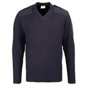 Security style v-neck sweater