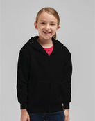 Kid's Full Zip Hooded Sweatshirt