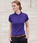 Henbury Lds Coolplus Polo