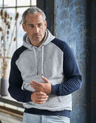 Tee Jays Mens Two-Tone Hooded Sweat