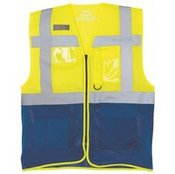 Hi-vis top cool open-mesh executive waistcoat (HVW820)