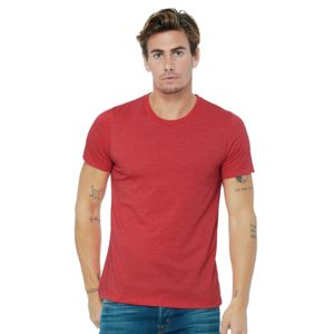 Unisex heather CVC short sleeve t-shirt Thumbnail