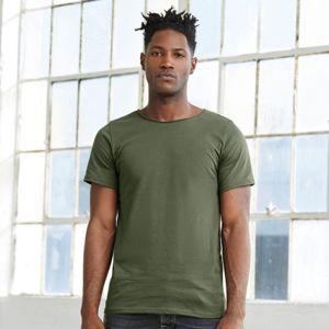 Jersey raw neck t-shirt Thumbnail
