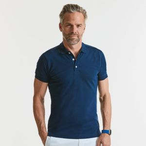 Stretch slim fit polo Thumbnail