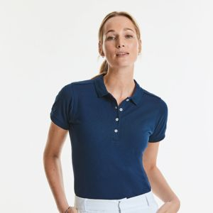 Women's stretch slim fit polo Thumbnail